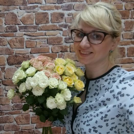 Нежный день: букеты цветов на заказ Flowwow
