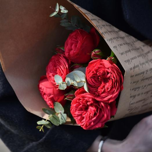 """Букет из роз """"Пикадилли"""": букеты цветов на заказ Flowwow"""