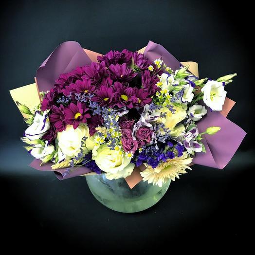 Фиолетово: букеты цветов на заказ Flowwow
