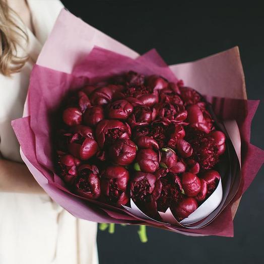 """Букет """"Ред Шарм"""" Large: букеты цветов на заказ Flowwow"""