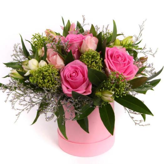 Оазис любви в коробке: букеты цветов на заказ Flowwow