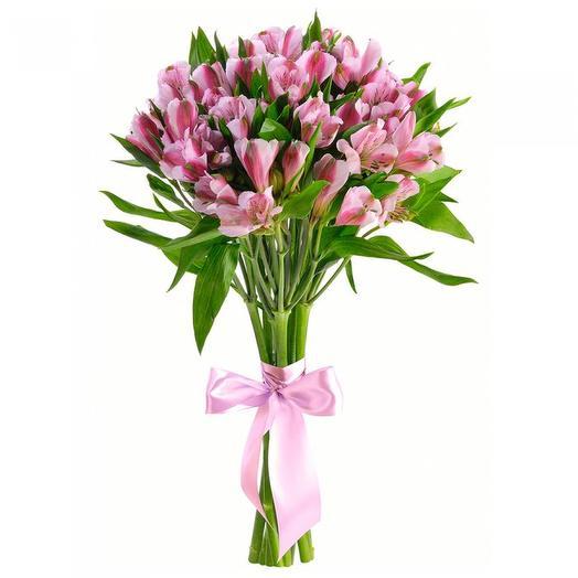 """Букет альстромерий """"Пинки"""": букеты цветов на заказ Flowwow"""