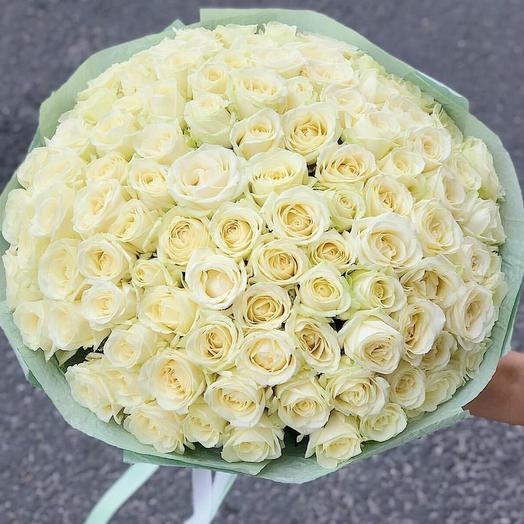 Букет 101 роз Мондиал
