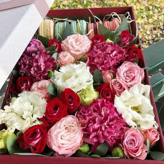 Для хорошего настроения: букеты цветов на заказ Flowwow