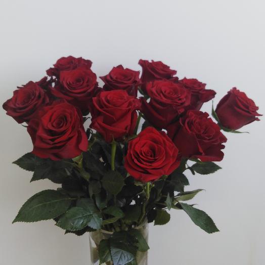 Охапка длинных роз: букеты цветов на заказ Flowwow