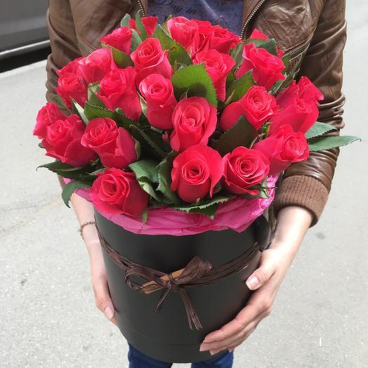 Шляпная коробка 5: букеты цветов на заказ Flowwow