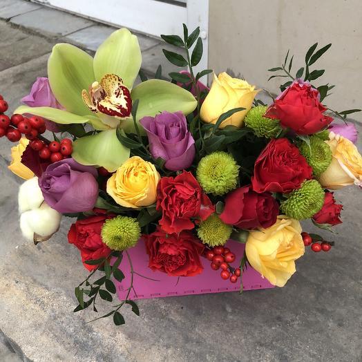 Праздничный конверт: букеты цветов на заказ Flowwow