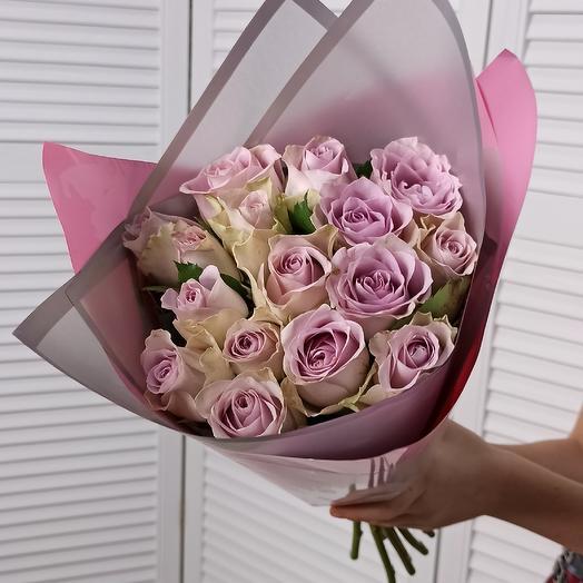 15 сиренвых: букеты цветов на заказ Flowwow
