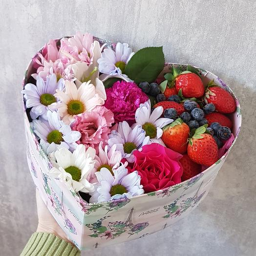 Ягодное настроение: букеты цветов на заказ Flowwow