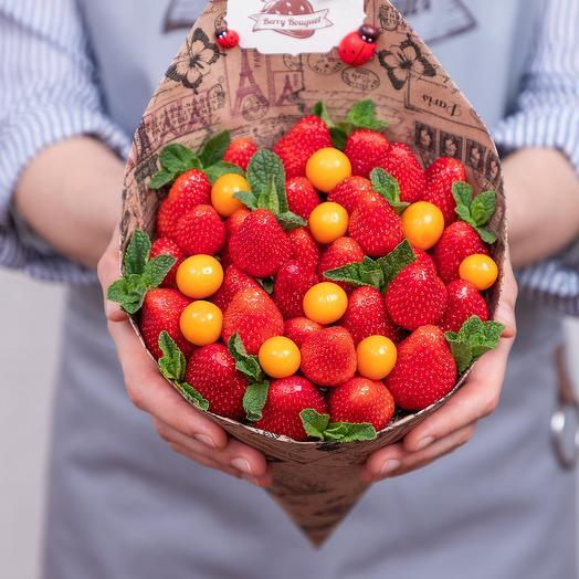 Букет Мини Физалис: букеты цветов на заказ Flowwow