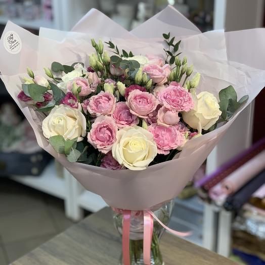 Букет «Восхищение»: букеты цветов на заказ Flowwow
