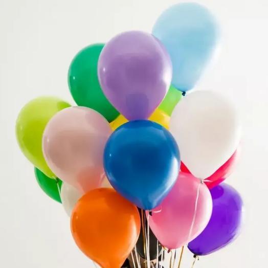 Воздушные шары с гелием пастель микс
