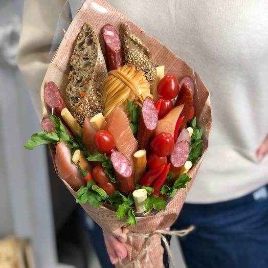 Колбасный букет «23 февраля»