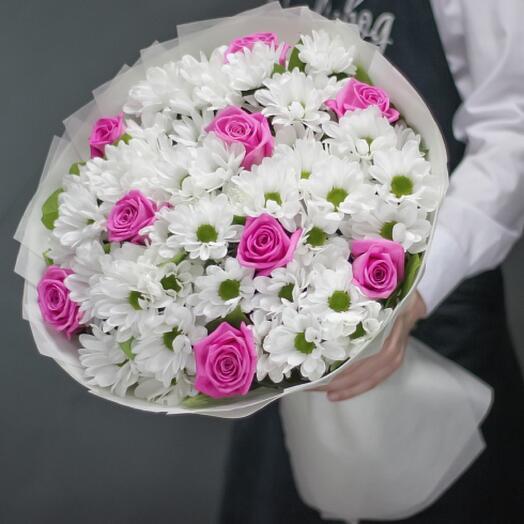 Букет цветов « Мечта романтика»