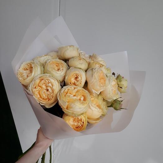 Монобукет из премиальных роз