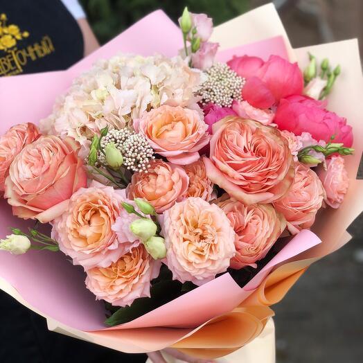 Букет «розе»