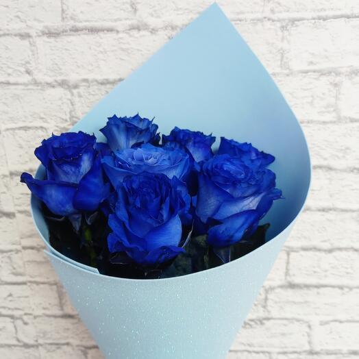 Розы синие