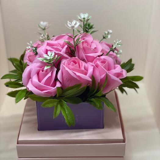 Мыльные розы аквариум