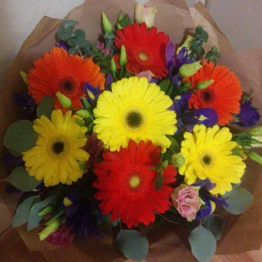 Букет  Яркие краски: букеты цветов на заказ Flowwow