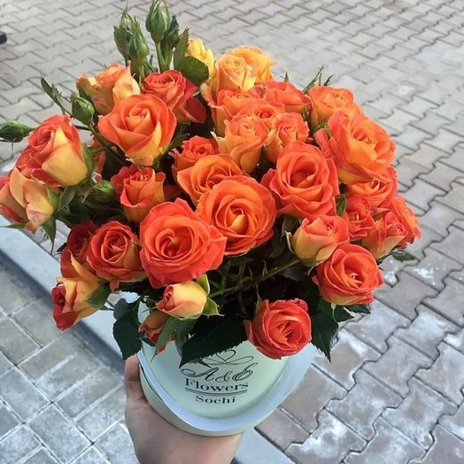 Композиция Голден Гранд: букеты цветов на заказ Flowwow