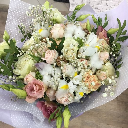 Тополиный пух: букеты цветов на заказ Flowwow