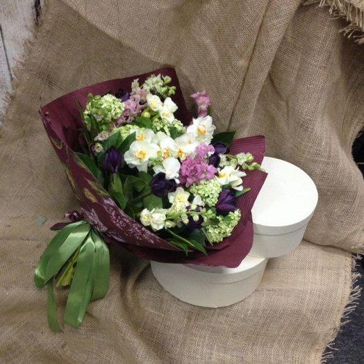 Благоухание весны: букеты цветов на заказ Flowwow