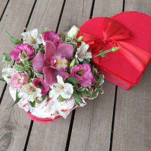 СЕРДЕЧКО ДЛЯ ТЕБЯ: букеты цветов на заказ Flowwow