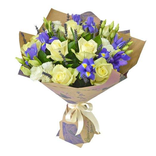 Сборный букет с розами : букеты цветов на заказ Flowwow