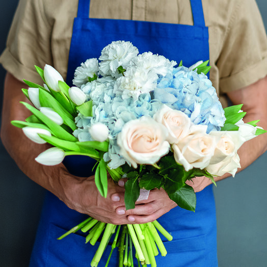 """Нежный букет """"Аристократка"""": букеты цветов на заказ Flowwow"""