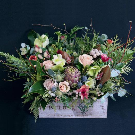 Лес в ящике: букеты цветов на заказ Flowwow