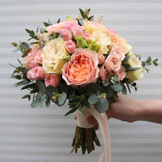 Свадебный букет 19: букеты цветов на заказ Flowwow