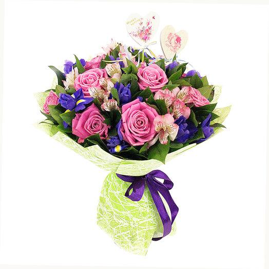 Букет Воздушный поцелуй: букеты цветов на заказ Flowwow