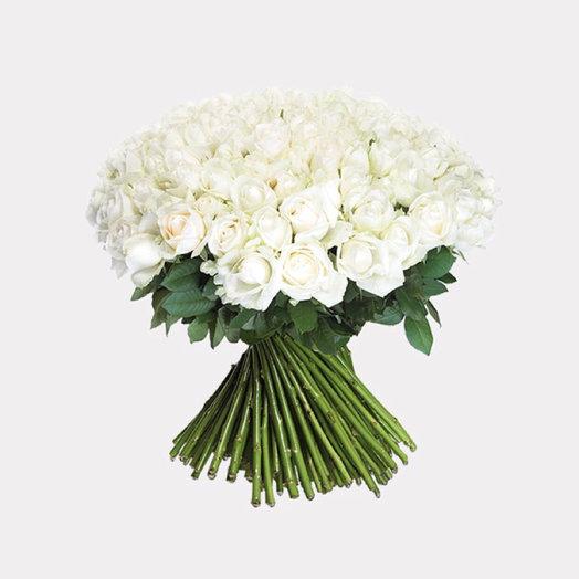 White 151: букеты цветов на заказ Flowwow