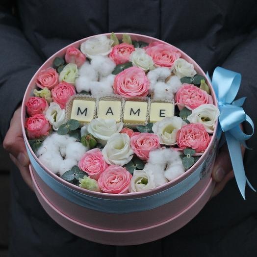 Коробочка маме 1: букеты цветов на заказ Flowwow