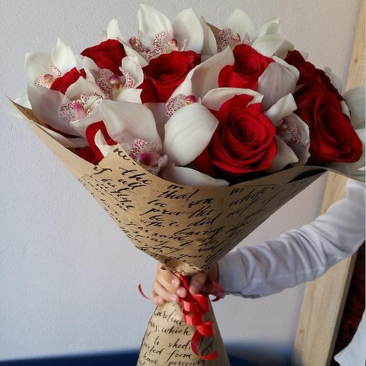 Букет 111: букеты цветов на заказ Flowwow
