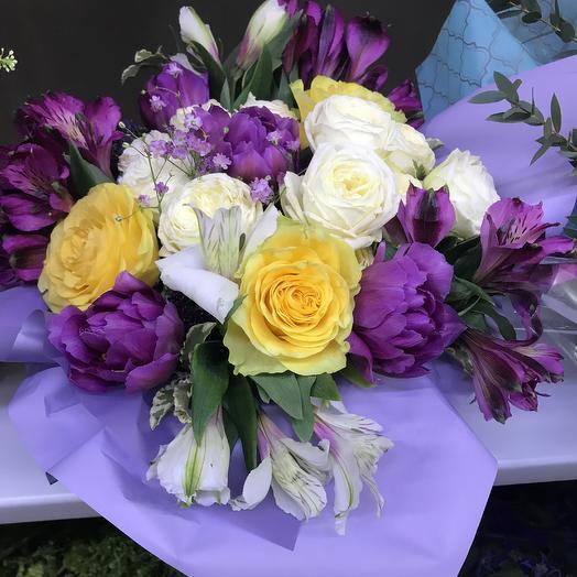 Яркий бриз: букеты цветов на заказ Flowwow