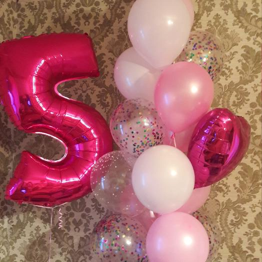 Букет из шаров: букеты цветов на заказ Flowwow