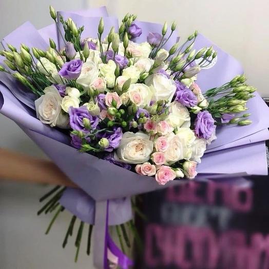 """Букет """"Капелька счастья"""": букеты цветов на заказ Flowwow"""