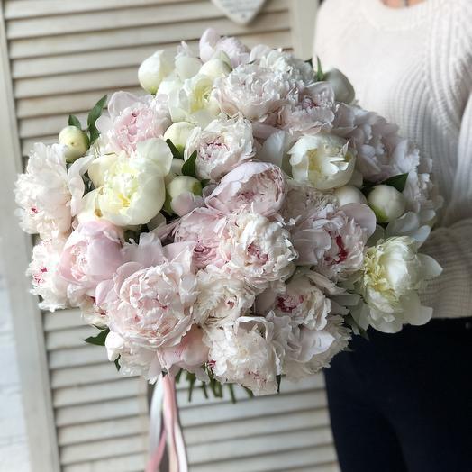 Пионовое Облако: букеты цветов на заказ Flowwow