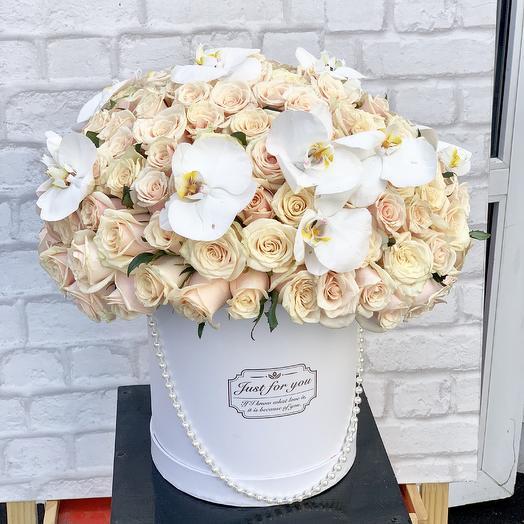 Композиция «Чарующий взгляд»: букеты цветов на заказ Flowwow