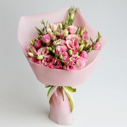 Розовая нега Эустома