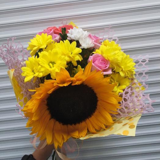 "Букет ""Солнечный"": букеты цветов на заказ Flowwow"