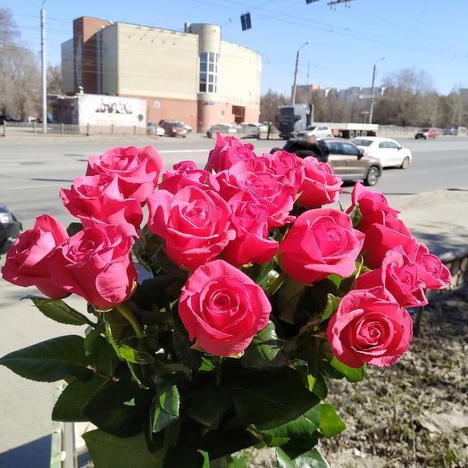 Букет роз (50см): букеты цветов на заказ Flowwow