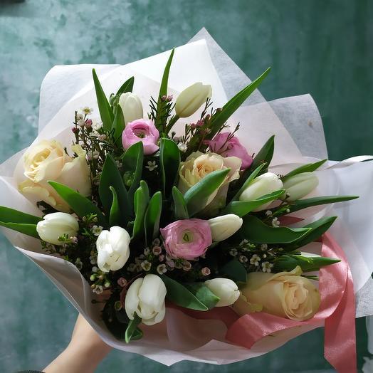 Вот бы весна🌷: букеты цветов на заказ Flowwow