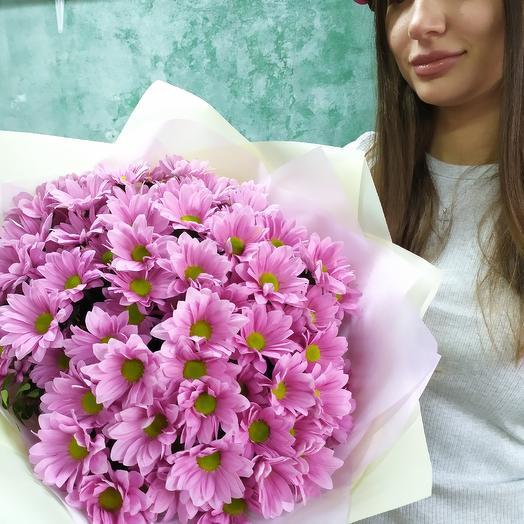 Хризантема кустовая: букеты цветов на заказ Flowwow