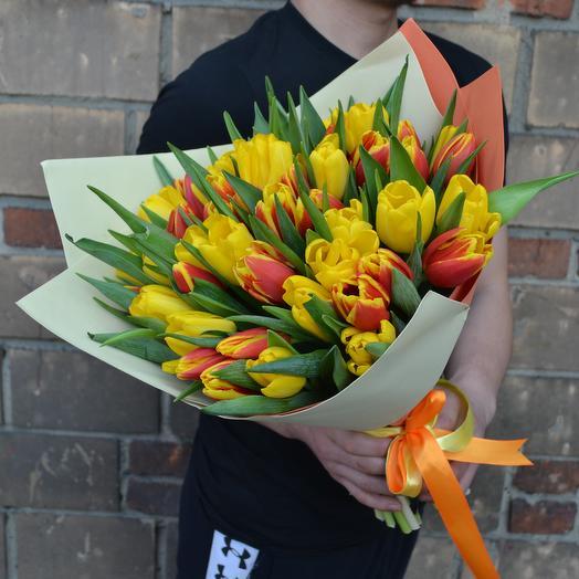 Солнечный праздник: букеты цветов на заказ Flowwow