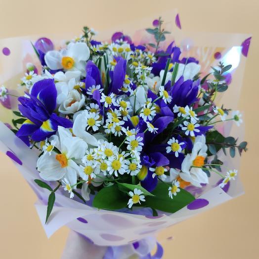 Коктейль Весна: букеты цветов на заказ Flowwow