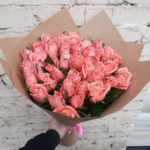 """Букет из 31 розы """"Карина"""": букеты цветов на заказ Flowwow"""