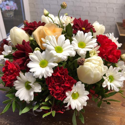 Композиция «поздравительная»: букеты цветов на заказ Flowwow