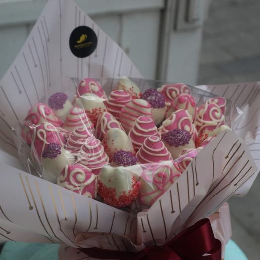strawberries in chocolate 30 PCs